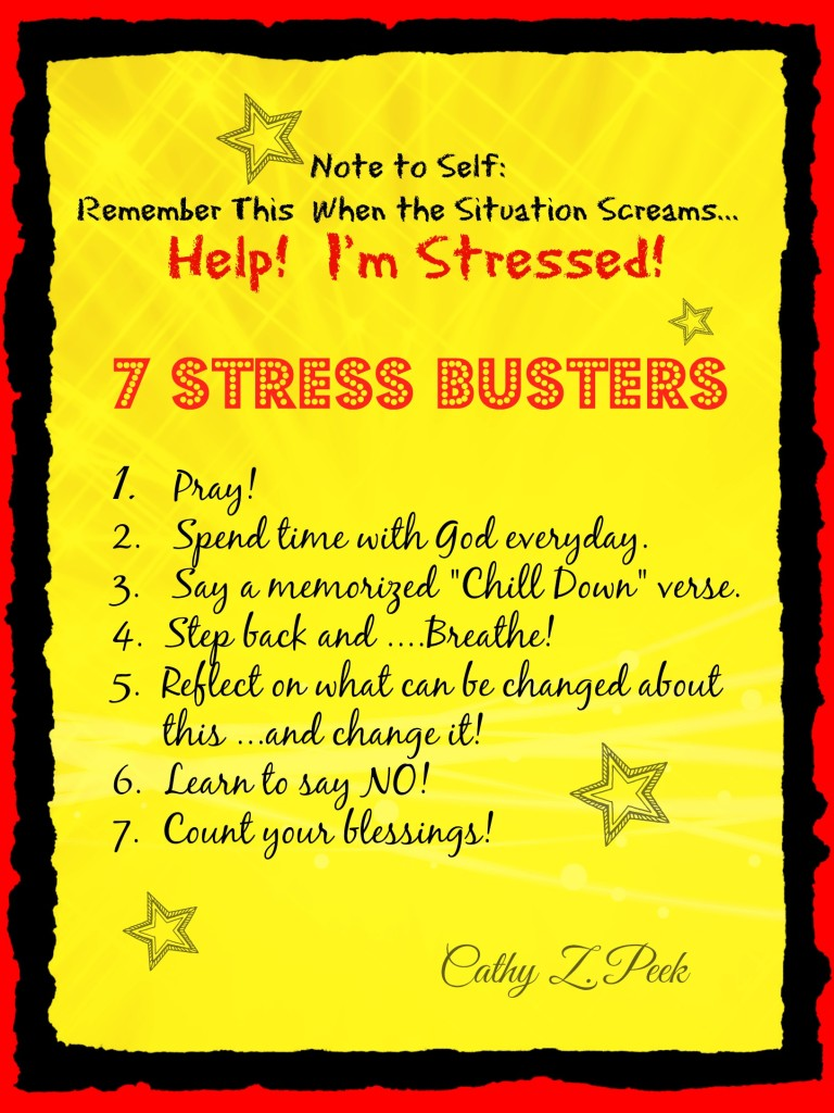7 Stress Busters!