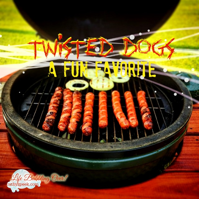 Cooking Twisted Dogs